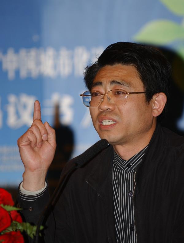 翟宝辉:住房和城乡建设部政策研究中心城乡规划处处长