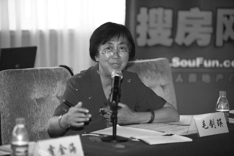 毛剑瑛:住房和城乡建设部科技委智能建筑委员会专家组副组长