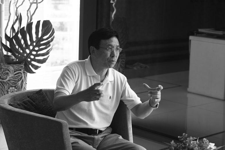 纪尚荣 中联盈地董事长