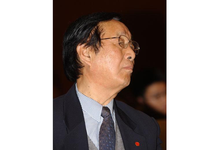 原国务院参事、住房和城乡建设部建设环境工程技术中心主任王秉忱在峰会上8