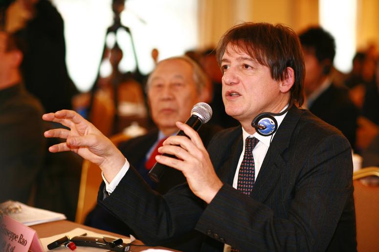 饶赛佩:意大利驻中国大使馆科技参赞